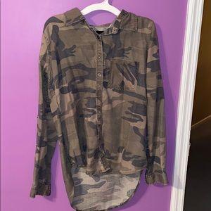 button down camo shirt